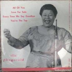 Discos de vinilo: ELLA FITZGERALD. COLE PORTER SONGBOOK: ALL OF YOU/ LOVE FOR SALE +2. VERVE HOLLAND 1956 EP. Lote 125674367