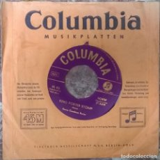 Discos de vinilo: BENNY GOODMAN. MEMORIES OF YOU/ KING PORTER STOMP. COLUMBIA, GERMANY 1956 SINGLE. Lote 125689431