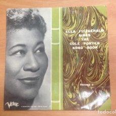 Discos de vinilo: EP ELLA FITZGERALD SINGS THE COLE PORTER SONG BOOK EDITADO POR VERVE . Lote 125715535