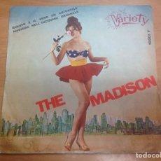 Discos de vinilo: SINGLE AL BROWN'S TUNETOPPERS / THE MADISON/ MO' MADISON EDICION ITALIANA. Lote 125732335