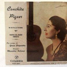 Discos de vinilo: SINGLE VINILO CONCHA PIQUER. Lote 125756523