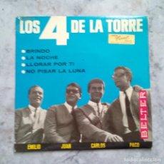 Discos de vinilo: LOS 4 DE LA TORRE. EP.. CARPETA Y DISCO EN BUEN ESTADO.. Lote 125797135