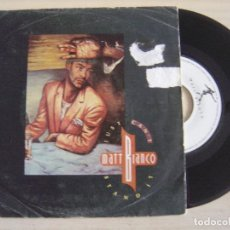 Discos de vinilo: MATT BIANCO - JUST CAN'T STAND IT + UP FRONT (EXTENDED VERSION) - SINGLE 1986 - WEA. Lote 125805995
