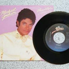 Discos de vinilo: SINGLE MICHAEL JACKSON THRILLER 1982. Lote 125808696