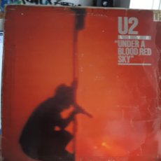 Discos de vinilo: U2 LIVE UNDER A BLOOD RED SKY. Lote 125824340