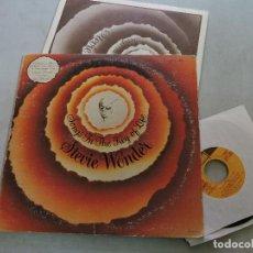 Discos de vinilo: STEVIE WONDER - SONGS IN THE KEY OF LIFE 2X12'' LP US + LIBRETO + SINGLE 7''. Lote 125825407