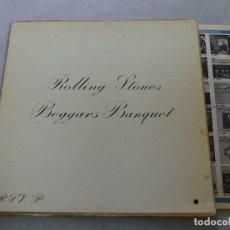 Discos de vinilo: THE ROLLING STONES - BEGGARS BANQUET LP US GATEFOLD. Lote 125828479