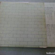 Discos de vinilo: PINK FLOYD - THE WALL 2X12'' LP SPAIN 1979 GATEFOLD. Lote 125828867