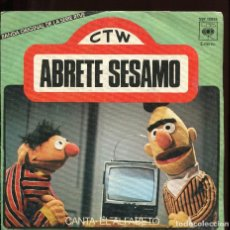 Discos de vinilo: BARRIO SÉSAMO. ABRETE SESAMO. CANTA EL ALFABETO. ED. CBS 1976. Lote 125829463