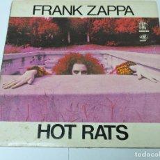 Discos de vinilo: FRANK ZAPPA - HOT RATS LP US GATEFOLD + INNER SLEEVE. Lote 125831435