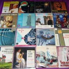 Discos de vinilo: LOTE DE MUSICA RELIGIOSA...16 SINGLES/EPS ALGUNOS DIFICILES. Lote 125844267