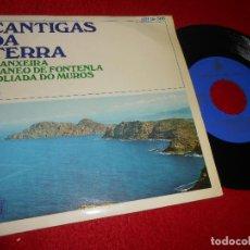 Dischi in vinile: CANTIGAS DA TERRA VOL.3 MANEO DE FONTENLA /+2 7'' EP 1961 HIPAVOX GALIZA FOLK. Lote 125861839