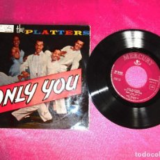 Discos de vinilo: THE PLATERS ONLY YOU 1959 SINGLE. Lote 125876471