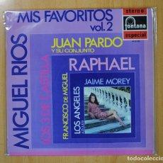 Discos de vinilo: MIS FAVORITOS VOL 2 FONTANA ESPECIAL - VARIOS - LP. Lote 125895183
