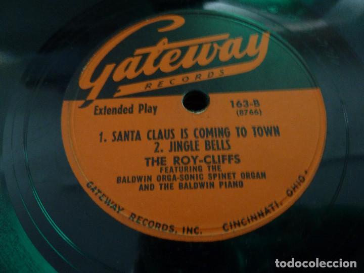 Discos de vinilo: THE ROY-CLIFFS - GATEWAY RECORDS - CANCIONES DE NAVIDAD - MADE IN USA - Foto 2 - 125896527