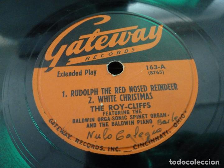 Discos de vinilo: THE ROY-CLIFFS - GATEWAY RECORDS - CANCIONES DE NAVIDAD - MADE IN USA - Foto 4 - 125896527