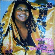 Discos de vinilo: LEONOR GONZALEZ MINA - RECITAL - LP COLOMBIA 1974 - SONOLUX IES 13-937 . Lote 125902219