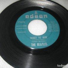 Discos de vinilo: THE BEATLES - TICKET TO RIDE (SOLO VINILO). Lote 125902899