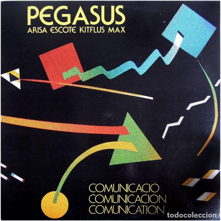 PEGASUS - COMUNICACIÓ-COMUNICACIÓN-COMUNICATION - LP SPAIN 1990 (RE) - PDI D-30.2302 (Música - Discos - LP Vinilo - Grupos Españoles de los 70 y 80)
