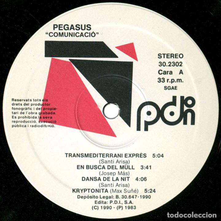 Discos de vinilo: Pegasus - Comunicació-Comunicación-Comunication - Lp Spain 1990 (re) - PDI D-30.2302 - Foto 3 - 125903891