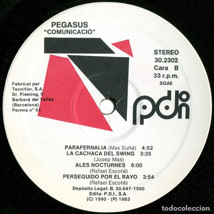 Discos de vinilo: Pegasus - Comunicació-Comunicación-Comunication - Lp Spain 1990 (re) - PDI D-30.2302 - Foto 4 - 125903891