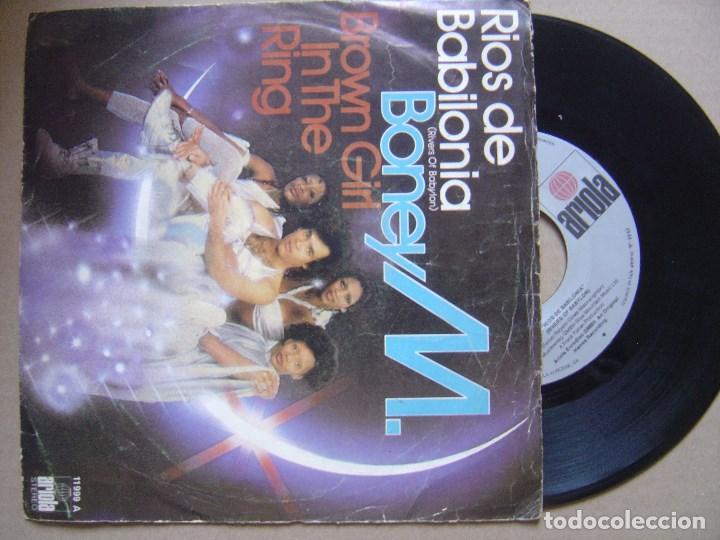 BONEY M - RIOS DE BABILONIA + BROWN GIRL IN THE RING -SINGLE 1978 - ARIOLA (Música - Discos - Singles Vinilo - Funk, Soul y Black Music)