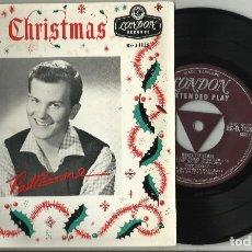 Discos de vinilo: PAT BOONE EP MERRY CHRISTMAS INGLATERRA. Lote 125937163