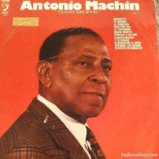 Discos de vinilo: ANTNIO MACHIN. COMO SIEMPRE. VOL 3. LP ESPAÑA. Lote 125947771