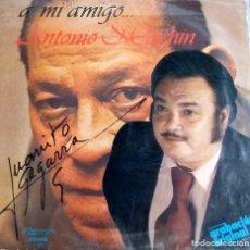 Discos de vinilo: JUANITO SEGARRA – A MI AMIGO... ANTONIO MACHIN-HASTA QUE YO NO TE BESE-SON MENTIRAS-ADIVINANZA. Lote 125948751