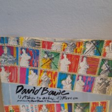 Discos de vinilo: DAVID BOWIE ASHES TO ASHES 1980. Lote 125953443