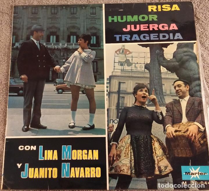 LINA MORGAN Y JUANITO NAVARRO - LP, 1967 (Música - Discos - Singles Vinilo - Bandas Sonoras y Actores)