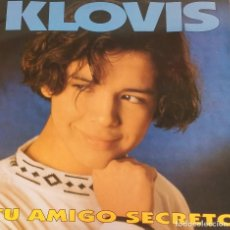 Discos de vinilo: KLOVIS .- LP-1993 .- TU AMIGO SECRETO. Lote 125961323
