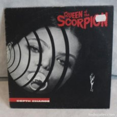 Discos de vinilo: QUEEN OF THE SCORPION,DEPTH CHARGE,DC RECORDINGS,1995.. Lote 125964435