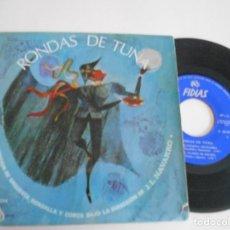 Discos de vinilo: RONDAS DE TUNA-EP GOLONDRINA MENSAJERA +3-J.L.NAVARRO 1966. Lote 126001731