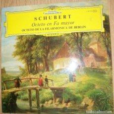Discos de vinilo: DISCOS (SCHUBERT). Lote 126010559