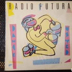 Discos de vinilo: MAXI - RADIO FUTURA - DANCE USTED 12'' SPAIN 1983. Lote 126022136