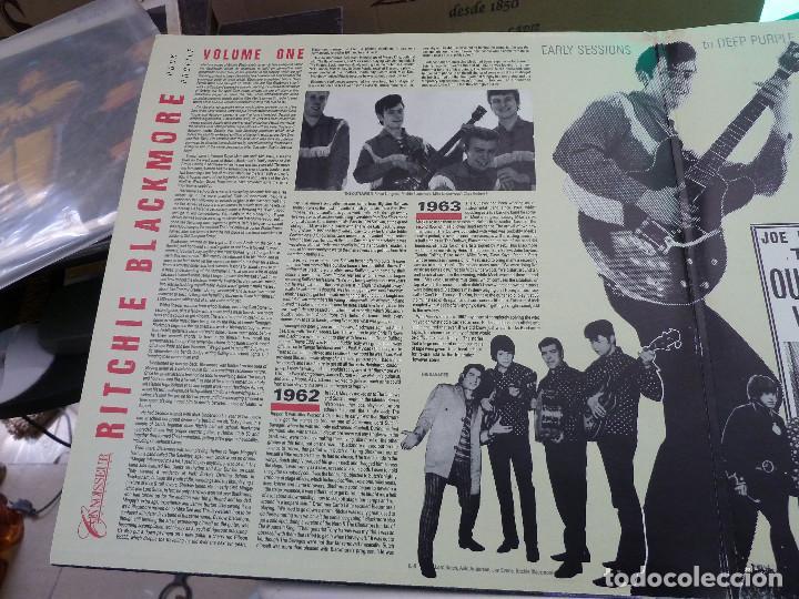 Discos de vinilo: RITCHIE BLACKMORE - VOLUME ONE - MADE IN ENGLAND - 2 LP - Foto 3 - 126032159