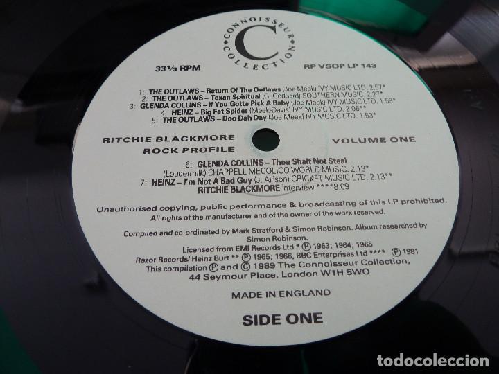 Discos de vinilo: RITCHIE BLACKMORE - VOLUME ONE - MADE IN ENGLAND - 2 LP - Foto 8 - 126032159