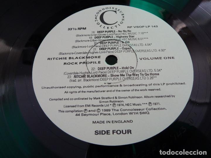 Discos de vinilo: RITCHIE BLACKMORE - VOLUME ONE - MADE IN ENGLAND - 2 LP - Foto 14 - 126032159