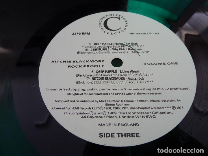 Discos de vinilo: RITCHIE BLACKMORE - VOLUME ONE - MADE IN ENGLAND - 2 LP - Foto 16 - 126032159
