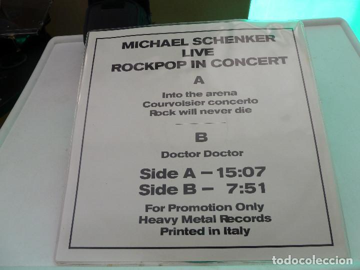Discos de vinilo: MICHAEL SCHENKER - MSG - LIVE IN DORTMUND 83 - HEAVY METAL RECORDS - Foto 4 - 126034567