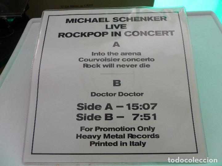 Discos de vinilo: MICHAEL SCHENKER - MSG - LIVE IN DORTMUND 83 - HEAVY METAL RECORDS - Foto 10 - 126034567