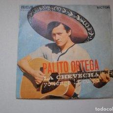 Discos de vinilo: SINGLE PALITO ORTEGA. LA CHEVECHA. YO TENGO LA CULPA. RCA 1969 SPAIN (PROBADO Y BIEN). Lote 126036347