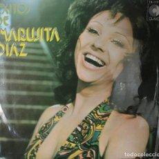 Discos de vinilo: MARUJITA DIAZ LP VINILO EN PERFECTO ESTADO VER VER DESCRIPCIÓN Y CANCIONES EN FOTOGRAFIAS. Lote 126042267