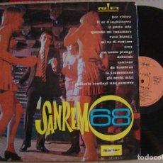 Discos de vinilo: LESTER FREEMAN - SAN REMO 1968 - LP 1968 - MARFER. Lote 126052667