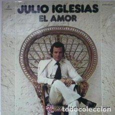 Discos de vinilo: JULIO IGLESIAS - EL AMOR PORTADA DOBLE COLUMBIA 1975. Lote 126065707