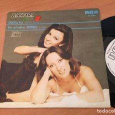 Discos de vinilo: BACCARA (BAILA TU) SINGLE ESPAÑA 1979 PROMO (EPI12). Lote 126076367