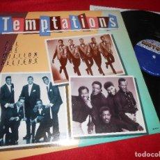 Discos de vinilo: THE TEMPTATIONS ALL THE MILLION SELLERS LP 1981 MOTOWN EDICION AMERICANA USA. Lote 126076667