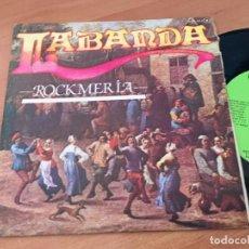 Discos de vinilo: LABANDA (ROCKMERIA) SINGLE ESPAÑA 1981 PROMO (EPI12). Lote 126076743