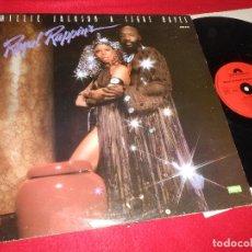 Discos de vinilo: MILLIE JACKSON&ISAAC HAYES ROYAL RAPPIN'S LP 1979 POLYDOR EDICION FRANCESA FRANCE. Lote 126076775